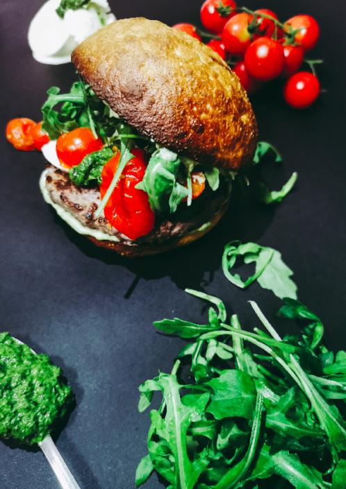 ITALO è un hamburger artigianale senza glutine da ordinare in delivery